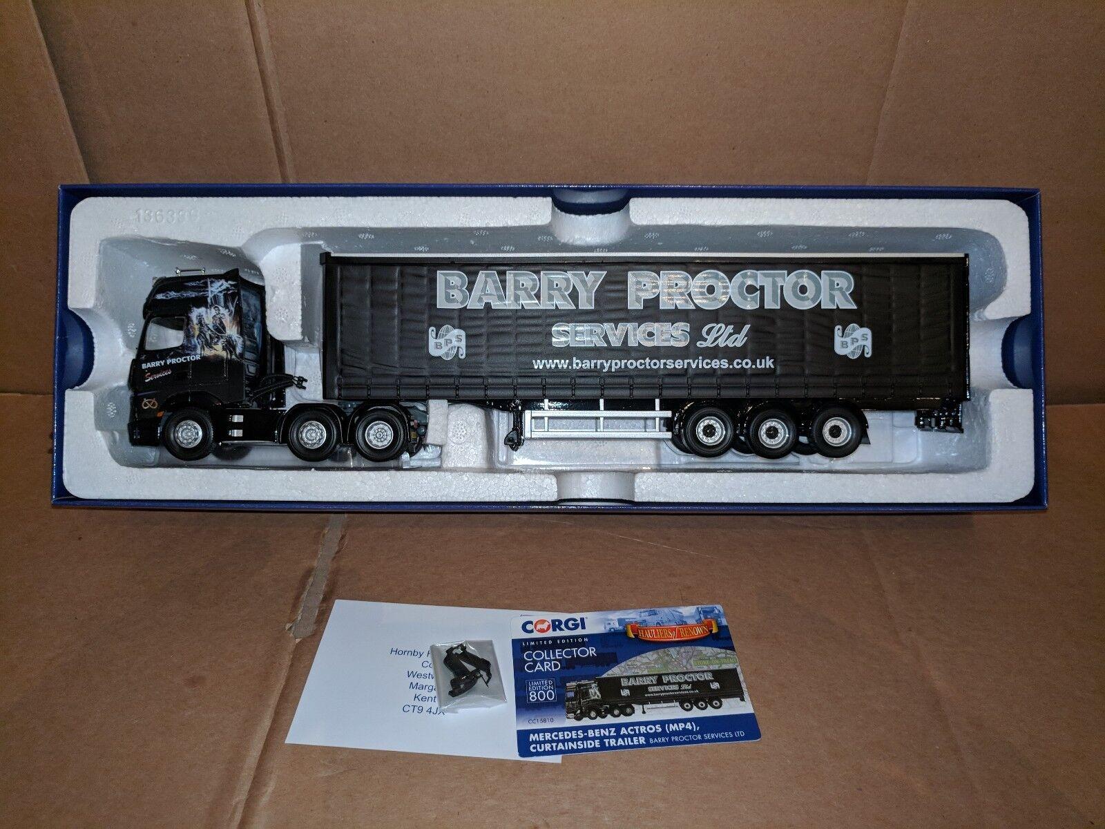 Corgi Mercedes Mp4 & C Sider- Barry Proctor