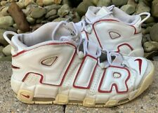 4a132124 Nike Air More Uptempo 96 White Varsity Red Pippen Mens Size ...