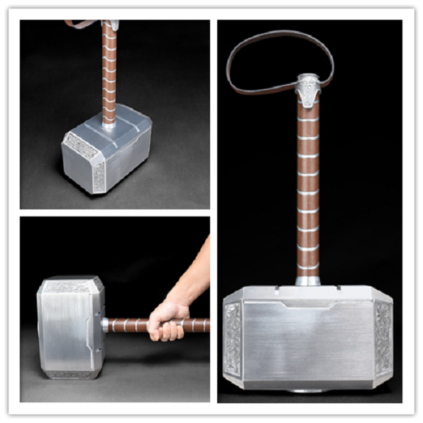 CATTOYS The Avengers Thor Full Metal Alloy Hammer 1:1 Scale Cosplay Collection