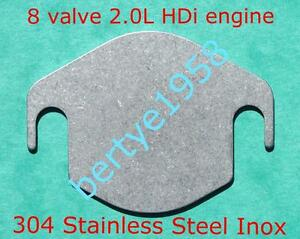 EGR-Blanking-Plate-206-306-406-Xsara-picasso-2-0L-HDi-8-Valve-DW10ATED-307-90HP