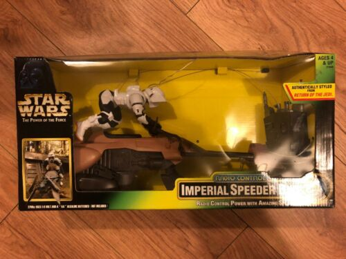 Atar Wars The Power Of The Force Imperial Speeder Bike Film, TV & Videospiele