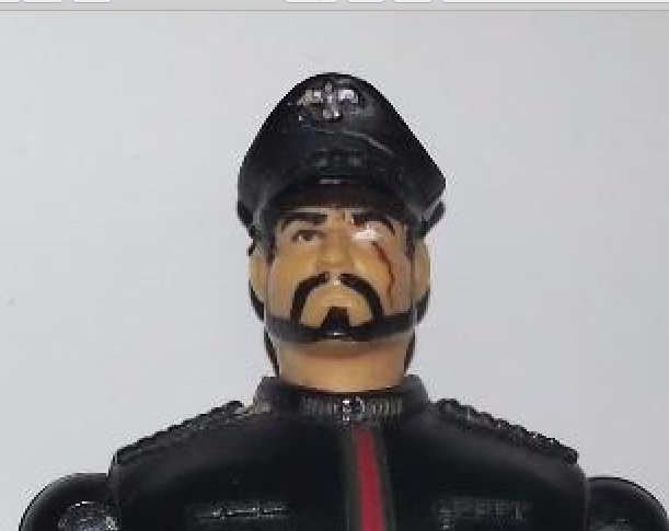 PredOTYPE G I Joe Sgt Savage General General General Blitz action figure - Wrong head abd106