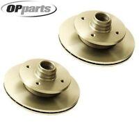 Mazda Rx-7 Original Performance Set Of 2 Disc Brake Rotors 40532066