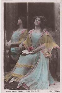 POSTCARD  ACTRESSES   Zena Dare