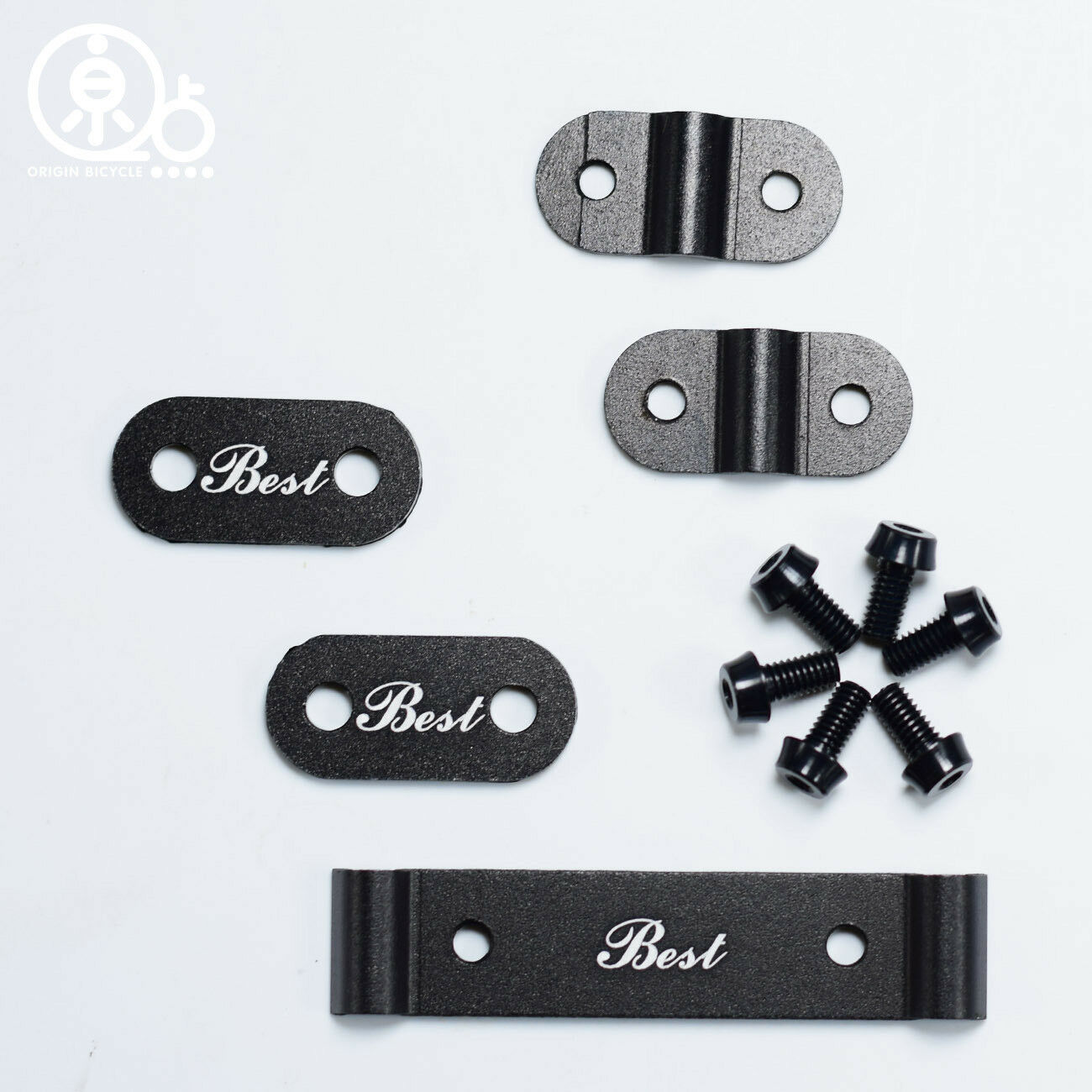 Mudguard Plates with Bolts Stays Parts  Set for L Model for Brompton Bicycle