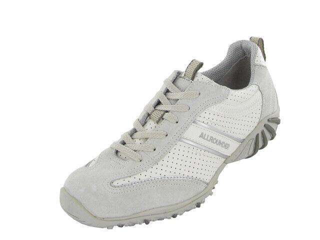 Femmes Lacets Décontractées Chaussures Mephisto Oria Blanc Taille UK 7.5