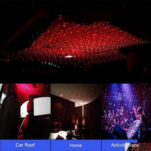 UK Car USB Star Ceiling Light Sky Projection Lamp Romantic Night Lights 4 Colors