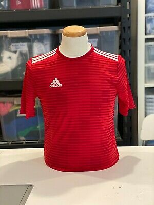 Adidas Soccer Youth All Sizes Climalite Condivo 18 Red Jersey Top ...