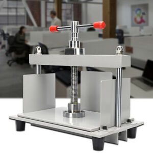 A4-Steel-Bookbinding-Press-Bookbinder-Binding-Papermaking-Flattening-Machine-USA