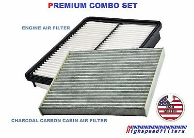 COMBO Air Filter & CHARCOAL Cabin Air Filter for 2011 2012 2013 Kia Sorento