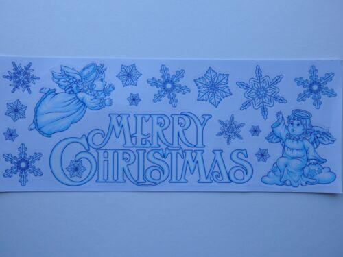 choix de 2 2pk Noël Fenêtre Stickers