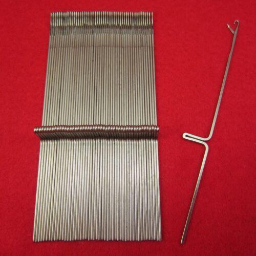 NEU 100 Nadeln für Silver Reed SR155 Strickmaschinen KnittingMachine Needles