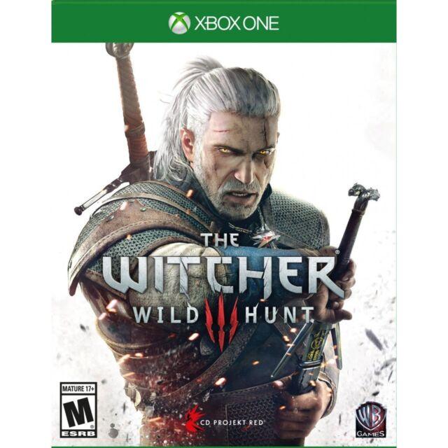 NEW The Witcher 3: Wild Hunt (Microsoft Xbox One, 2014)