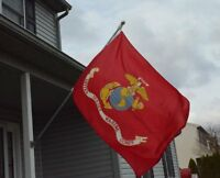Valley Forge Nylon United States Marine Corp. Flag, Measures 3-foot X 5-foot , N on sale