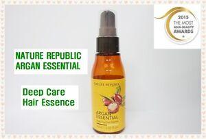 Nature Republic Argan Essential Deep Care Hair Essence Review