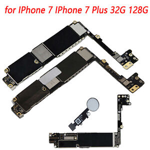 32G-128G-Main-Board-Motherboard-Unlocked-with-White-Touch-ID-for-IPhone-7-7-Plus
