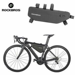 RockBros Bike Cycling Waterproof Triangle Frame Bag Capacity 5L//8L Black