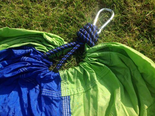 Jardin Hamac et arbre Bracelet Set avec mousquetons /& Sac Multi Boucle Réglable