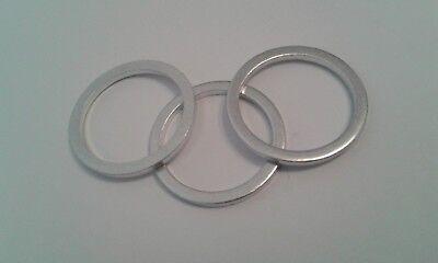 5 Stück Aluminiumring Alu Dichtring Dichtung  30x36x2 mm DIN 7603 Form A