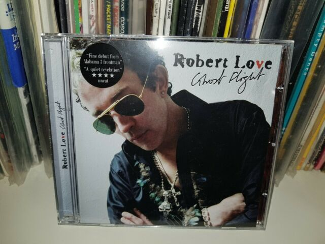 ROBERT LOVE - GHOST FLIGHT  CD NEW Audio Album One little Indian 2006