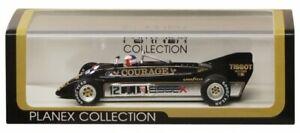 Nouveau PLANEX 1/43 Lotus 88B British Grand Prix 1981 LOT-SPK-88B-N du Japon avec suivi