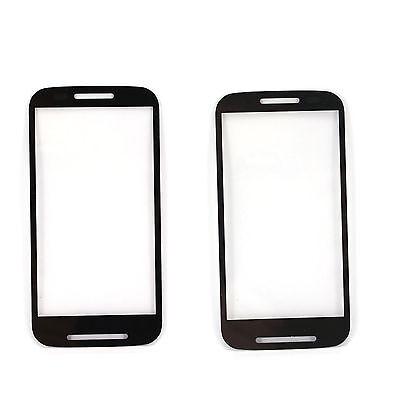 Fr Motorola Moto E XT1021 XT1022 Front Touch Screen Glass Lens Replacement Black