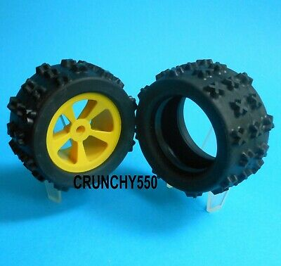 """For 2.1/"""" JRX2 RC10 amazing Vintage Race Prep Front Tires RP-927 New old stock"""