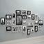 miniature 2 - 26pcs Photo Frame Set Picture Display Wall Hanging Modern Home Decor Black White