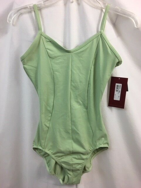 5911b9743 Mirella M207LD Princess Seamed Camisole Leotard Sea-foam Green ...