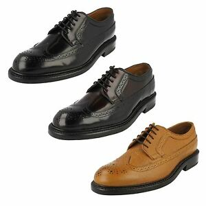 MENS CLARKS FORMAL BROGUE LEATHER CLASSIC SMART LACE UP SHOES EDWARD ... 814e65ba9d2f