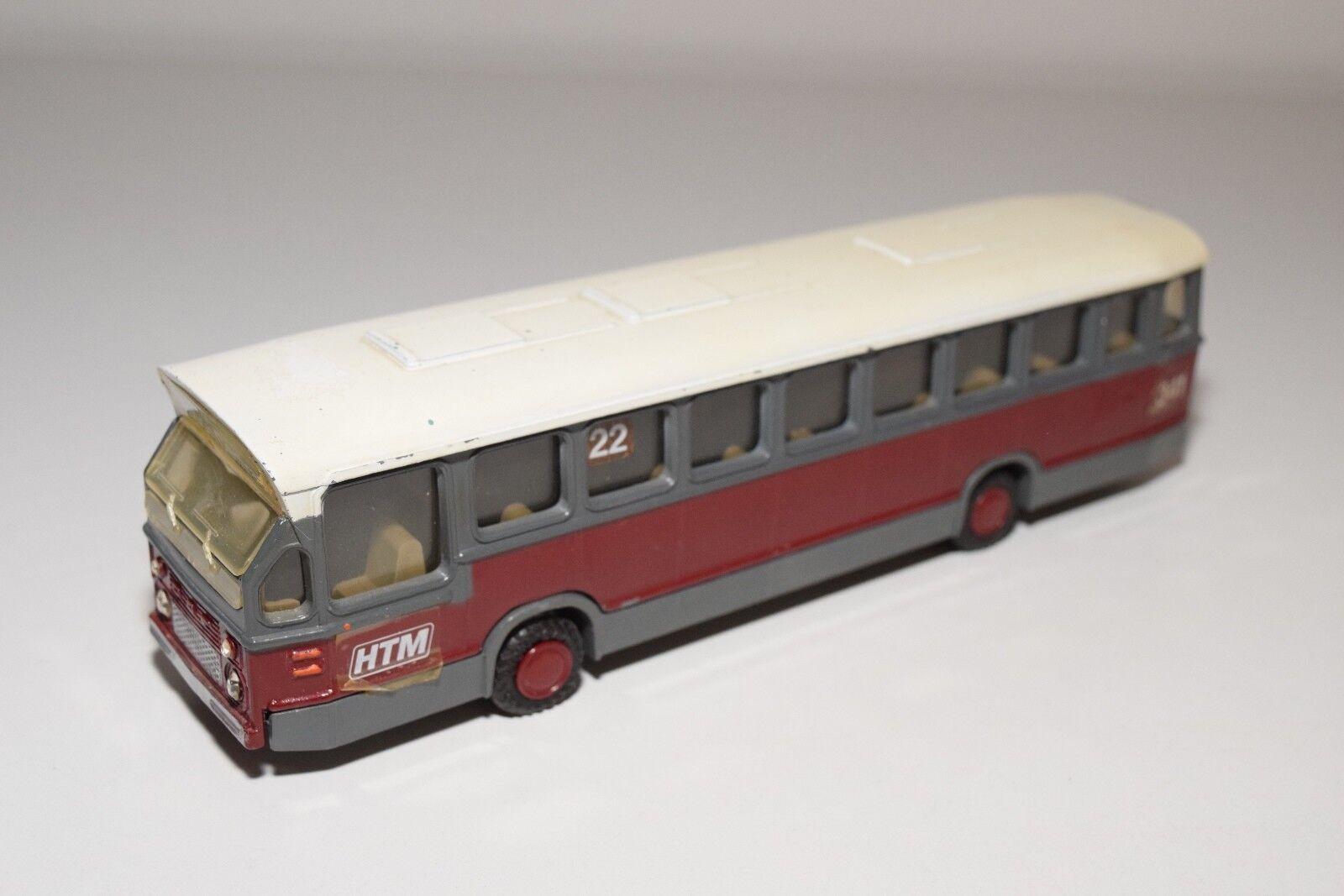 @.lion daf stadtbus bus http      maroon grau - weiß ausgezeichneten zustand