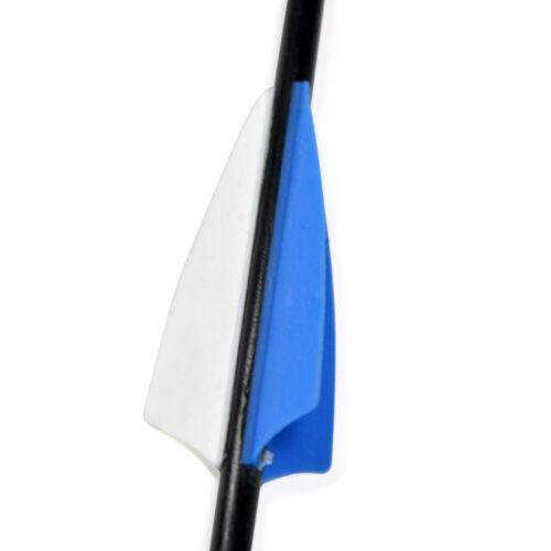 """Details about  /31/"""" Fiberglass Arrows Vanes OD6mm Shield Archery Target Practice Recurve Bow"""
