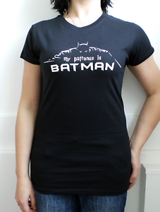 6a90a94a1 Women's Harry Potter themed My Patronus is Batman T-shirt | eBay