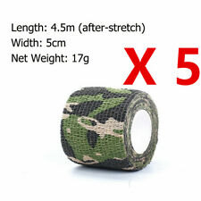 5*4.5M Military Camouflage Stealth Tape Outdoor Camping Wrap Woodland Camo Gun
