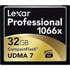 Lexar Professional 1066x (32GB) CompactFlash Card UDMA 7