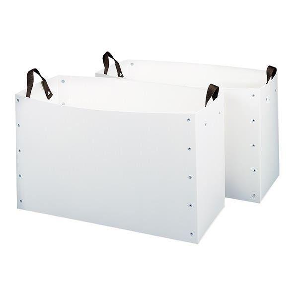 Weaver  Poly Alforja cajas fuerte y flexible - 26.5  X 11.25  X 16  Par  descuento de bajo precio