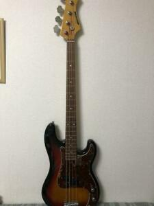 BACCHUS Universe Series Electric Bass 3 Tone Sunburst Ships Safely From Japan