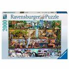 Ravensburger Wild Kingdom Shelves 2000 Pieces Jigsaw Puzzle (16652)