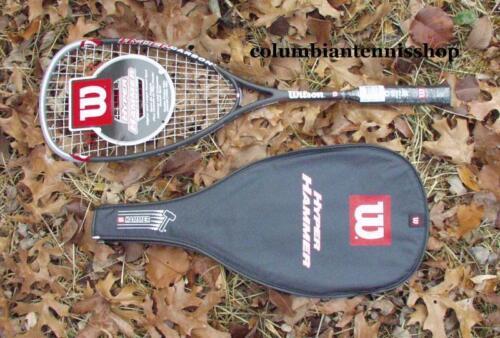 12 Nouveau Wilson Hyper Hammer 165 g HH 165 Squash Raquette/CASE HH 165 Grip