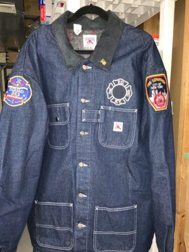 Men's Firemans Chore Brand Denim Chore Coat