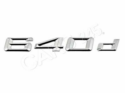 Genuine BMW F01 F01N Trunk Lid 730d Emblem Badge Logo Sign OEM 51147187125