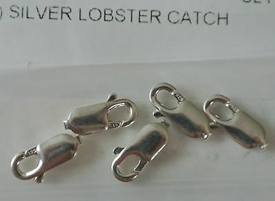 1 X Size XXL Large 20mm X 11mm 925 Sterling Silver Lobster Trigger Parrot Clasp