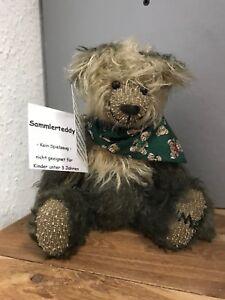 Kuenstlerbaer-Teddy-Baer-23-cm-Top-Zustand