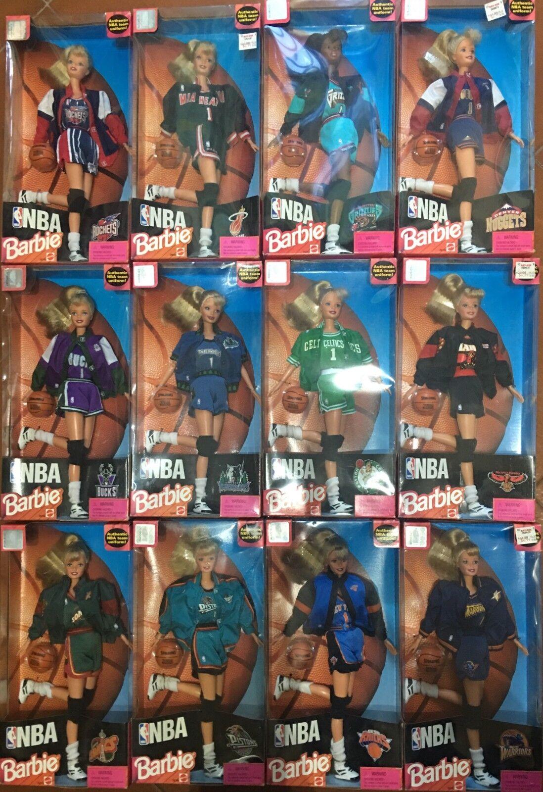 Barbie Mattel NBA Authentic Original Uniform SCEGLI