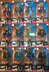Barbie Mattel Nba Authentique Original Uniforme Scegli !!