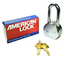 American Lock A701ka Solid Steel Chrome Plated 25 Padlock Shackle Keyed Alike