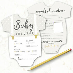 10-x-Baby-Shower-Games-Prediction-amp-Advice-Cards-New-Mum-To-Be-Boy-Girl-036