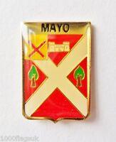 Mayo Irish Family Surname Pin Badge