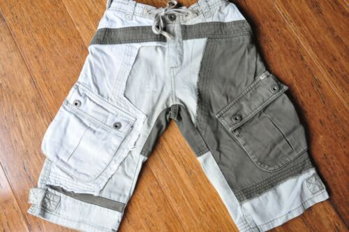 Fred Bare Boys Patchwork Cargo Shorts Size 8 Excellent
