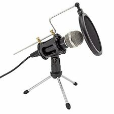 Professional Condenser Microphone Plug &Play Home Studio for Iphone Android R...